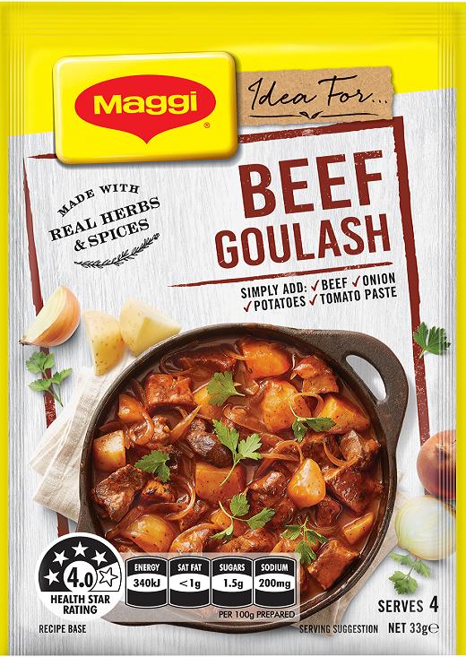 Beef Goulash Recipe Base Maggi New Zealand