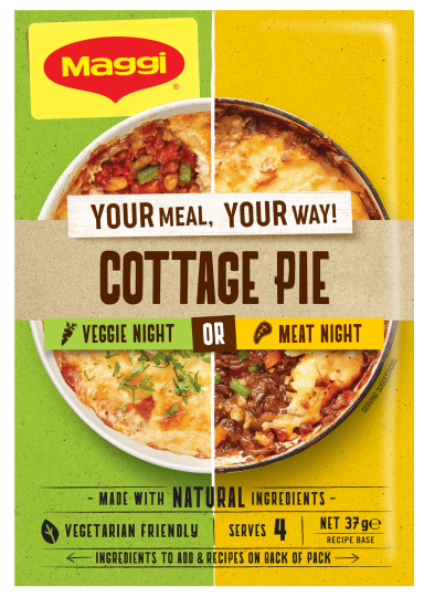 Maggi Cottage Pie - Front of Pack